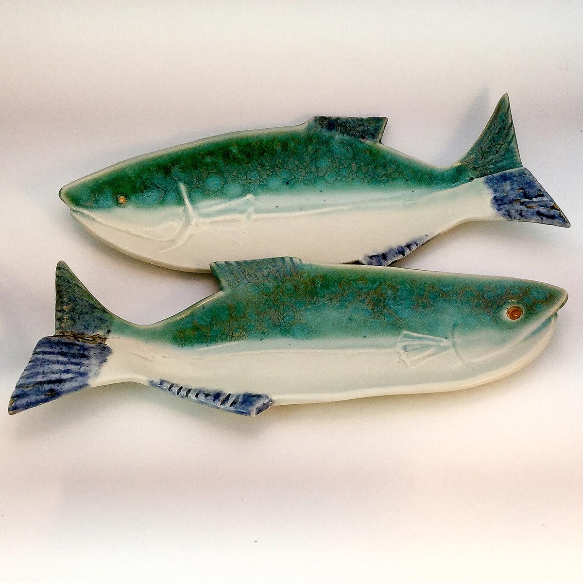 Salmon plates