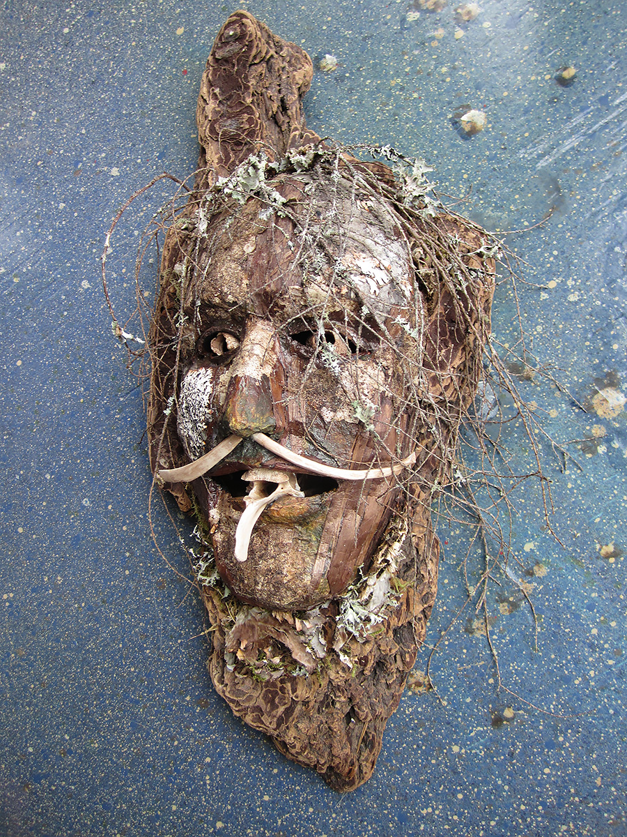 Old Man of the Woods Mask