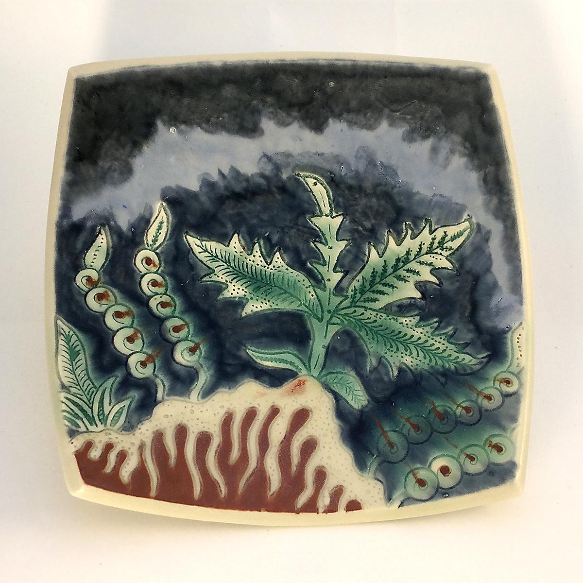 undersea square plate
