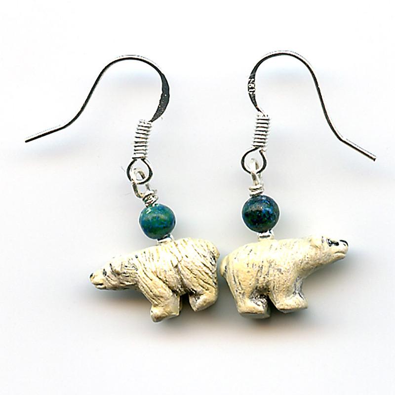 Spirit Bear Earrings